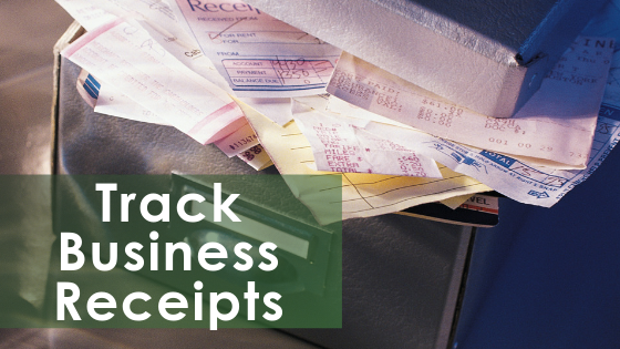 Keeping Track Of Business Receipts
